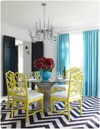 colorful dining rooms. Small Yet Comfy Colorful Dining Area Rooms G