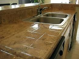 tile kitchen countertops ideas black