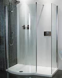 Roman Colossus Walk In Shower Enclosure 1450 x 700mm Including Shower Tray