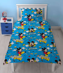 mickey mouse cool rotary single duvet cover
