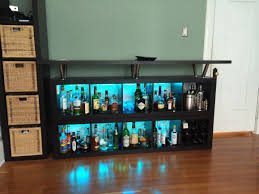 expedit lighting. Expedit Home Bar: Add Light And Texture! - IKEA Hackers Lighting L