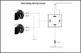 4 pin horn relay wiring wiring info \u2022 4 pin relay wiring diagram compressor horn relay diagram wiring diagram u2022 rh championapp co 4 pin relay wiring diagram 4 pin