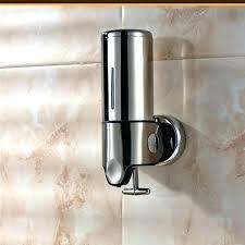 shower soap dispenser wall mounted image dispensers dispense
