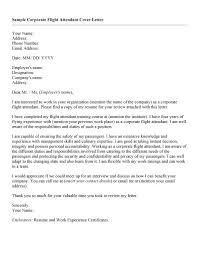 cover letter example for flight attendant   sample curriculum    cover letter example for flight attendant flight attendant cover letter sample lettercv corporate flight attendant cover