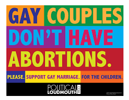 Pro gay marriage posters