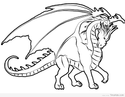 Http Timykids Com Dragon Coloring Pages