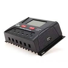 HQST 30 Amp 12V/24V <b>PWM Solar</b> Panel <b>Regulator Charge</b>