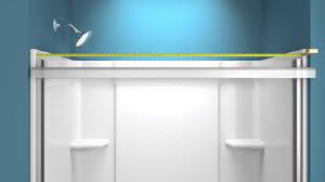 Shower Door kohler levity shower door installation photos : Installation - STERLING Prevail Shower Door - YouTube