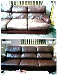 leather couch repair kit how to repair worn leather sofa recondition leather leather seats looking a