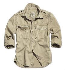 Surplus Raw Vintage Shirts Long Sleeve