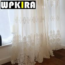 european embroidered sheer curtains for living room window curtains for the bedroom lace luxury curtains embroidery