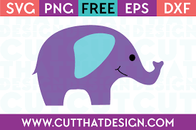 Cute valentine hearts free svg files & clipart includes: Free Svg Files Elephant Archives Cut That Design