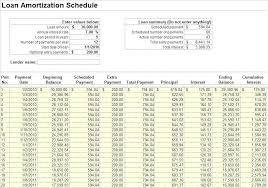 House Amortization Schedule Home Loan Calculator Spreadsheet Download Free Loan Amortization