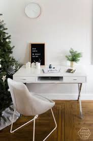 Ideas for office design Modern Holiday Home Tour Family Home Full Of Frosted Greens Pinterest 323 Best Home Office Ideas Images In 2019 Desk Ideas Office Ideas
