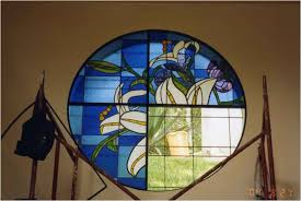 we will repair or clean your old stained glass windows or make you a new one with your input we will create a window or panel unique to your home