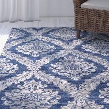 blue area rugs mistana david rug reviews wayfair with regard to and grey