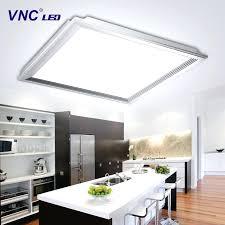 kitchen light fixtures ultra thin flush mount led kitchen lighting fixtures led office light and aluminium kitchen light fixtures