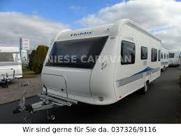 Hobby Excellent 560 Wlu Heckbad Dusche Einzelbetten Niese Caravan