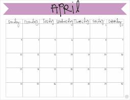 April 2016 Calendar Free Printable Live Craft Eat