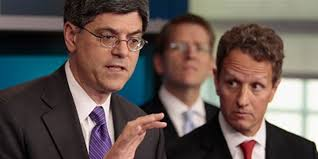 Jack Lew might have to practice his doodle...er, signature