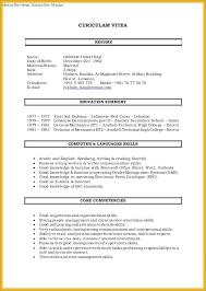 Interpersonal Skills Resume Luxurious Technical Petencies Resume