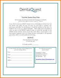 7 Dentist Note Template Grittrader
