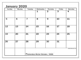 2020 calandars january 2020 calendars ss michel zbinden en