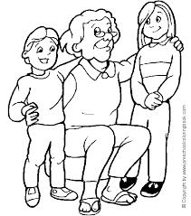Small Picture wwwpreschoolcoloringbookcom Family Coloring Page