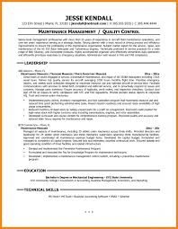 100 Maintenance Resume Template Free Pretty Design