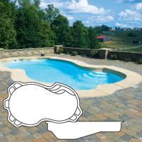 fiberglass pool shapes. Modren Shapes Fiberglass Pool Shape  Cozumel On Shapes