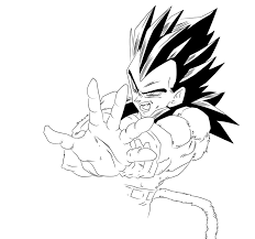 Small Picture Image Gallery of Goku Ssj4 And Vegeta Ssj4 Coloring Pages