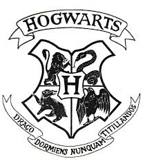 Transparent Hogwarts crest file from a harry potter letter prop ...
