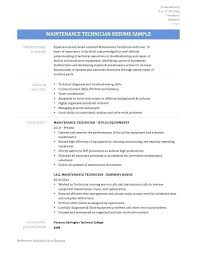 Resume For Maintenance Classy Industrial Mechanic Resume Maintenance Resume Skills Entry Level
