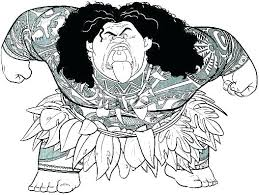 Moana Coloring Pages Baby Printable Free Disney Interactive
