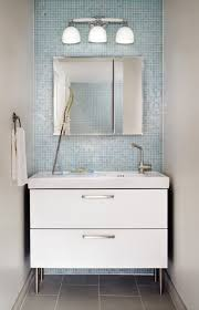 White Bathroom Cabinets Wall Bathroom Wonderful Small Bathroom Decoration With Light Blue Glass