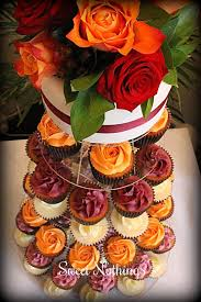 fall wedding cupcakes. Unique Cupcakes Autumn Wedding Cupcake Tower Sweet Nothings Cakes U0026 Cupcakes Intended Fall Wedding L