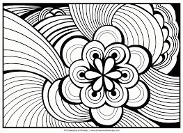 Hard Flower Coloring Pages For Teenagers 10 Q Coloring Pages Cool