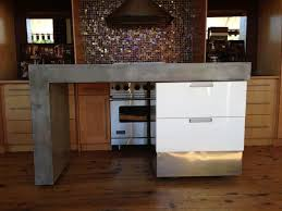 modern portable kitchen island. Delighful Island Rolling Concrete Island Modern Kitchen Islands And  To Portable H