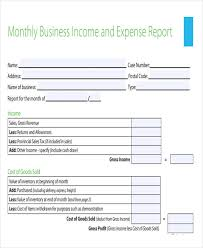 Monthly Income And Expenses 30 Expense Report Template In Pdf Free Premium Templates