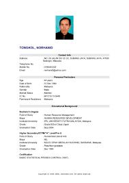 My Resume Haadyaooverbayresort Com