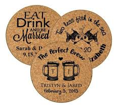 Wedding Coasters Wedding Favors Wedding Coasters Wedding Cork Coasters The Etsy