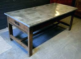 zinc top table zinc top table care zinc top table french chestnut farmhouse zinc top table zinc top table you zinc top coffee