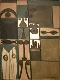 abstract saay by adolph gottlieb oil paintings art reions reion gallery