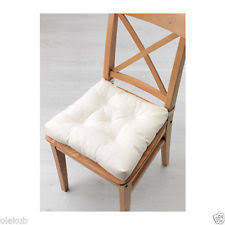 IKEA Malinda Chair Cushion Pad White Color