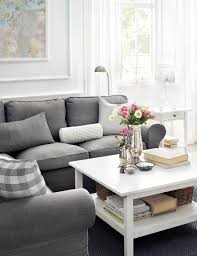 decorating with ikea furniture. 14 Surprisingly Chic IKEA Living Rooms Room And Gray Regarding Ikea Furniture Plan 18 Decorating With R