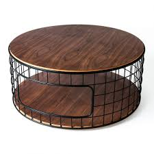 uncategorized metal round coffee table inside brilliant big side best 10 wood
