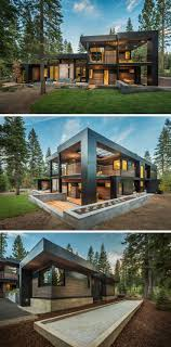 This New California House Makes Itself At Home In The Forest sagemodern  have designed this contemporary home nestled between the trees along side a  golf ...