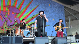 Somebody give him a drink: Nathaniel Rateliff And Night Sweats Sob Jazzfest 2016 Youtube