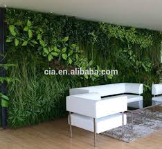 extravagant green wall decor synthetic vertical artificial grass hanging plant indoor idea modern for bathroom bedroom