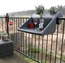 balKonzept Design balcony table.